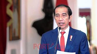 Presiden Joko Widodo Berharap Penuh Vaksinasi Covid-19 Segera Dilakukan