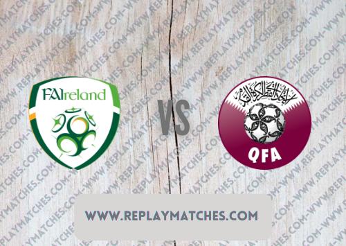 Republic of Ireland vs Qatar Highlights 12 October 2021