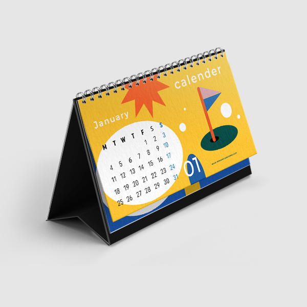 Biaya / Harga Jasa Cetak Sablon Kalender Manokwari, Papua Barat
