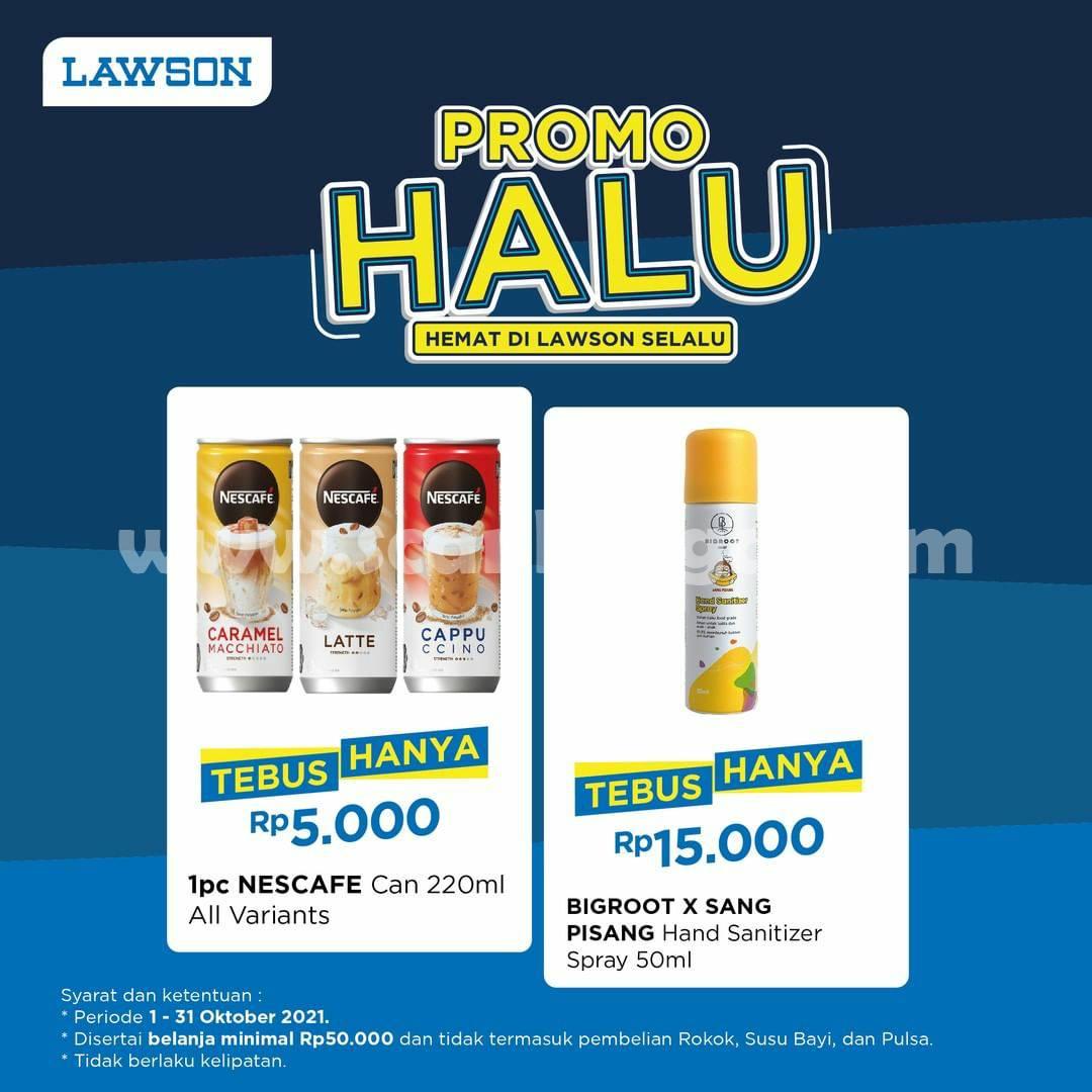 Promo LAWSON HALU – TEBUS MURAH Hanya Rp. 5.000 saja