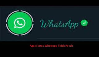 Solusi Mudah Cara Agar Status Whatsapp Tidak Pecah