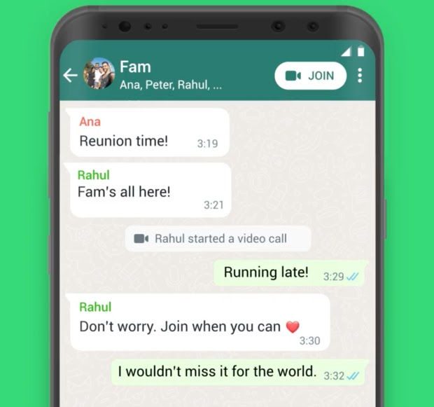 WhatsApp Just Added an Incredible Button to Your Chat called Join-able Button