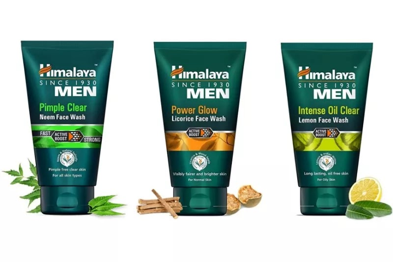 Himalaya men, Best Facewash for men.