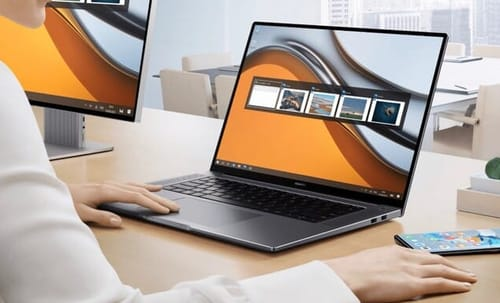 Huawei launched the Matebook 16 laptop