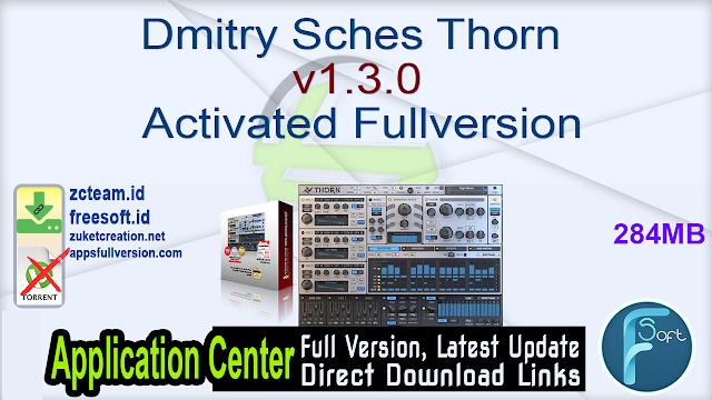Dmitry Sches Thorn v1.3.0 Activated Fullversion