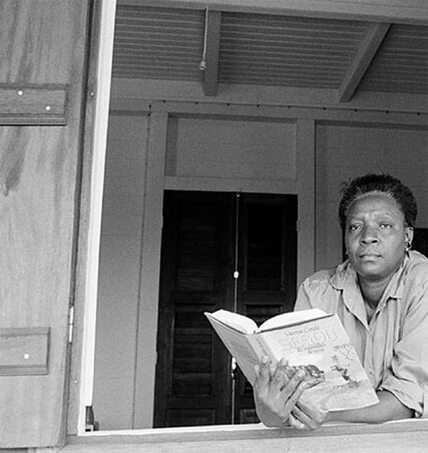 Maryse Condé, una de las candidatas al Premio Nobel de Literatura