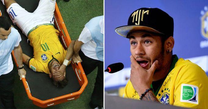 Neymar discuss 2014 World Cup injury that almost got him paralysed