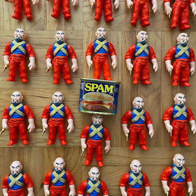 Master of Weapons Gerald Okamura SPAM Edition Vinyl Figure by Mark Nagata & Max Toy Company