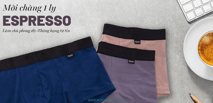 Top 5 thương hiệu quần lót nam Việt Nam