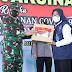 Panglima TNI Bersama Kapolri Tinjau Serbuan Vaksinasi Covid-19 Di Banyuwangi