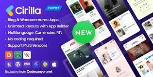 Cirilla v1.2.1 - Multipurpose Flutter App For WordPress & Woo commerce
