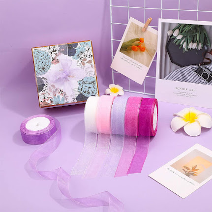 Best Sheer Organza Ribbons For Crafts and Decorations
