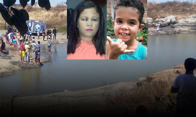 Tragédia na Bahia: Mãe e filho morrem afogados em aguada