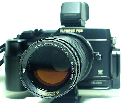 Olympus Pen E-P5, Jupiter-37A 135mm F3.5