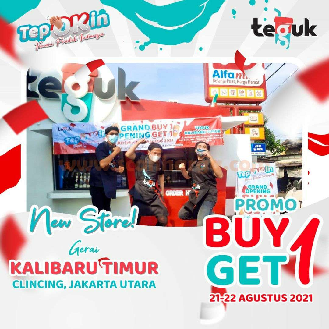 TEGUK KALIBARU TIMUR - CLINCING JAKARTA UTARA Opening Promo Beli 1 Gratis 1