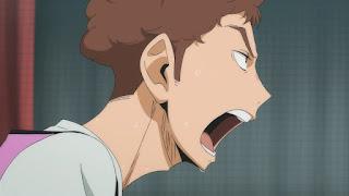 ハイキュー!! アニメ 2期4話   森然高校 小鹿野大樹    HAIKYU!! Season2 Episode 4
