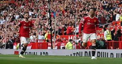 رونالدو يقود مانشستر يونايتد لتحقيق فوز مثير علي فياريال في بطولة دوري أبطال أوروبا