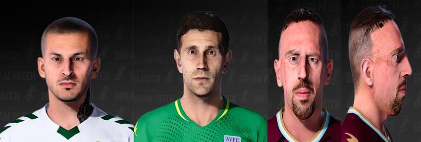 Darío Benedetto, Franck Ribéry & Emiliano Martínez Face For eFootball PES 2021