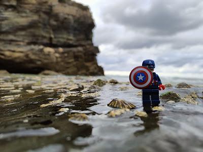 Lego capitán América Mar