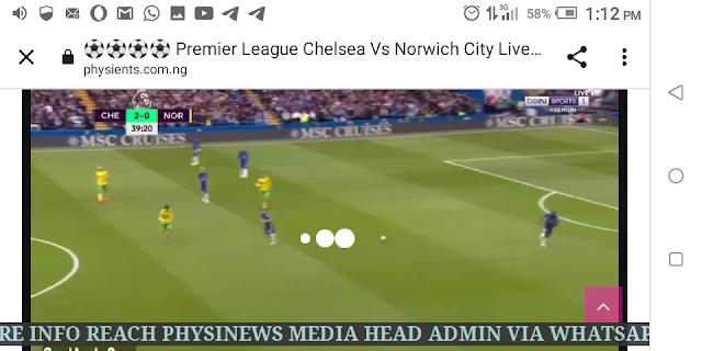 ⚽⚽⚽⚽ Premier League Chelsea Vs Norwich City Live HD ⚽⚽⚽⚽