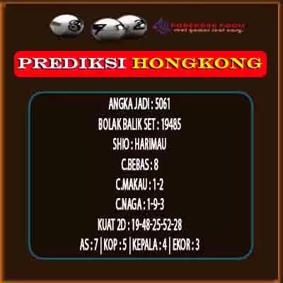 Syair HK 16 Oktober 2021