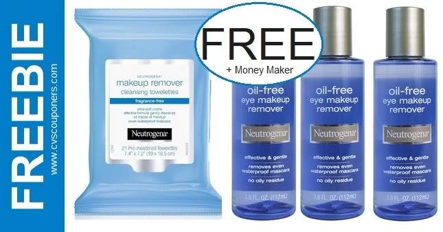 FREE Neutrogena Makeup Remover Wipes