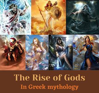 Rise of the Gods in Greek mythology