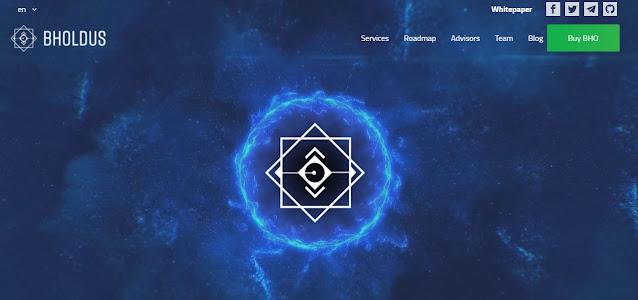Screenshot Webiste BHoldus (BHO)