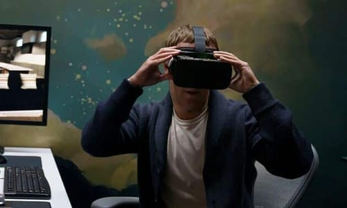 Mark Zuckerberg looks to the future of the Metaverse