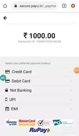 Pay using your favorite payment method