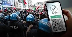 Η Ιταλία συνεχίζει να αντιστέκεται στην επιβολή της υγειονομικής τυρρανίας. Μετά την τεράστια κινητοποίηση και τις ογκώδεις διαδηλώσεις συ...