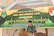 KOREM 051/Wijayakarta Peringati Maulid Nabi Muhammad SAW 1443.H/2021.M