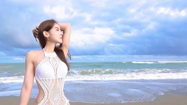 夏米雅Miya拍攝瑜伽音樂專輯封面 電力驚人召喚精壯泳男