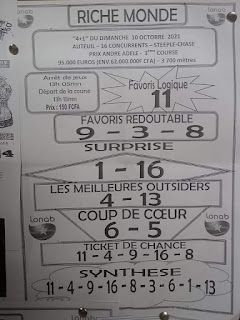 Pronostics quinté dimanche Paris-Turf TV-100 % 10/10/2021