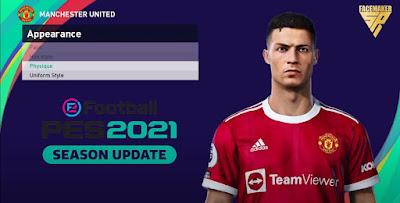 PES 2021 Faces Cristiano Ronaldo by SR