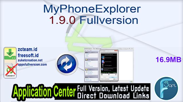 MyPhoneExplorer 1.9.0 Fullversion