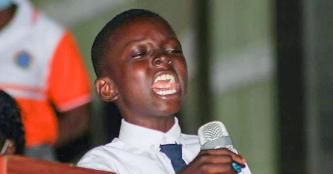 wow! 11-Year-Old Boy Leads His Father To Christ