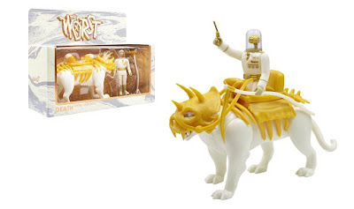 The Four Worstmen of the Apocalypse Cortex Commander with Death Cat ReAction Figure Set by Super7