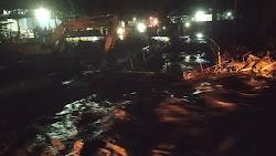 Air Sungai di Jembatan Korleko Meluap, Pengguna Jalan Putar Balik