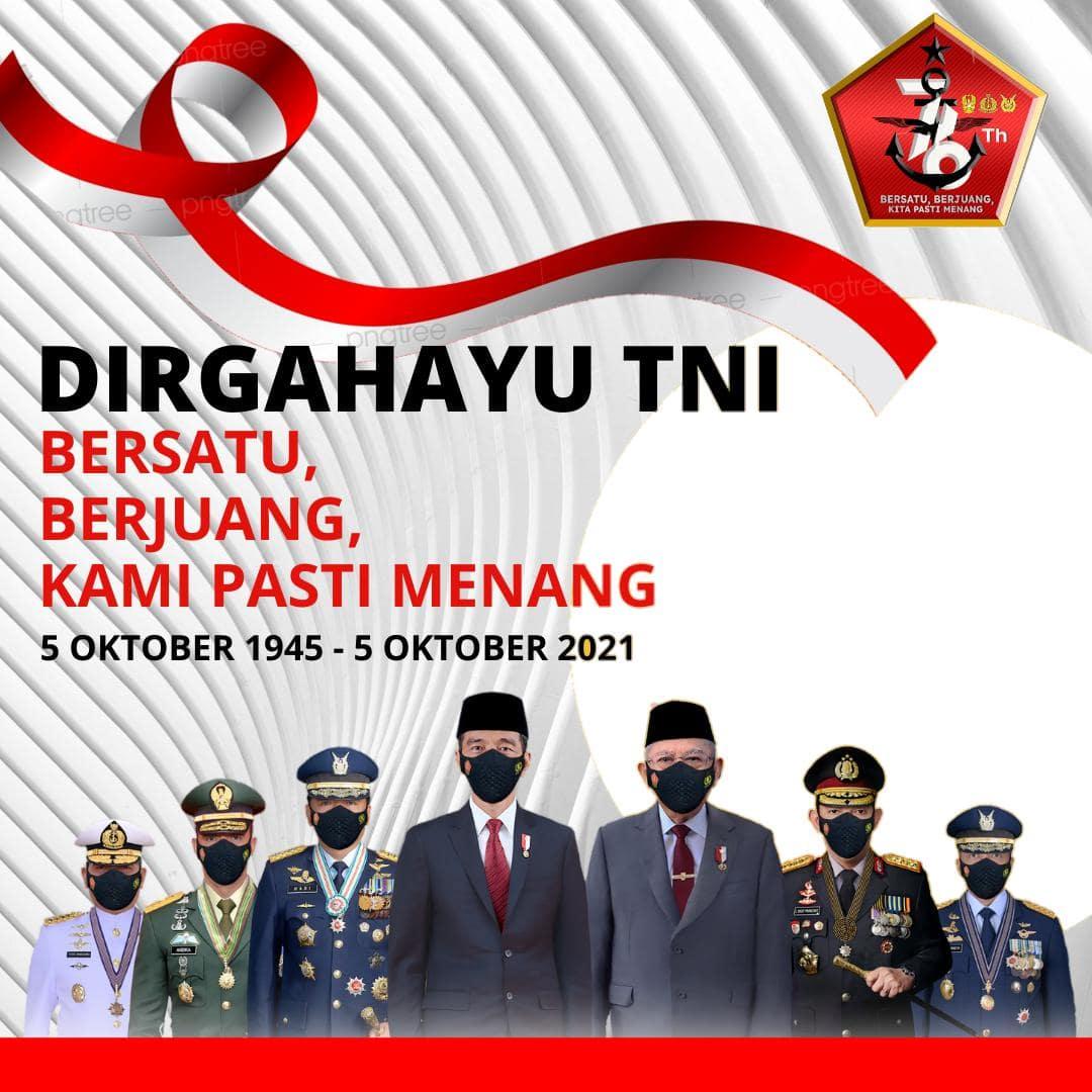 Link Bingkai Foto Twibbon Selamat Hari TNI 2021