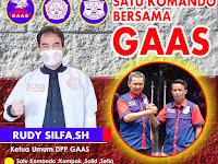 Kami Segenap Pengurus DPP GAAS Tetap Satu Komando Bersama Rudy Silfa,SH