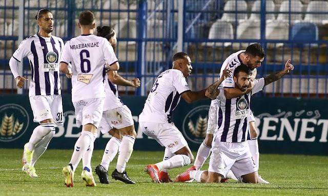 Απόλλων Σμύρνης - ΠΑΣ Γιάννινα (1-0): Πρώτη νίκη για Ελαφρά Ταξιαρχία με ήρωα Κότσαρη και λυτρωτή Ιωαννίδη