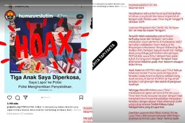 AJI Kecam Polres Luwu Timur karena Mencap Hoax Laporan Jurnalistik Terkait Pem*rkosaan di Luwu