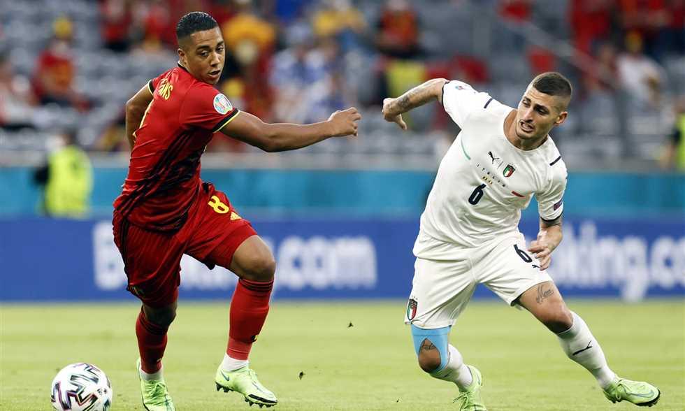 تقرير مباراة إيطاليا امام بلجيكا