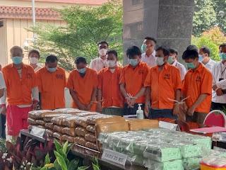 Bareskrim Polri Ungkap Peredaran 29,5 Kg Sabu, 44 Kg Ganja dan 1500 Ekstasi