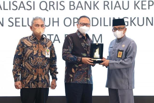 Sosialisasikan QRIS Bank Riau Kepri, Sekdako Batam : Penerapan Non Tunai Tingkatkan PAD
