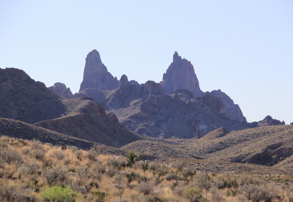 Chisos Mountains Texas