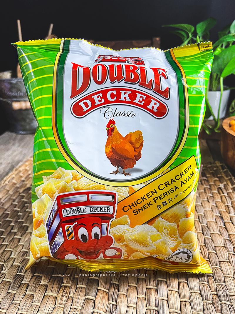 Keropok Perisa Ayam Double Decker