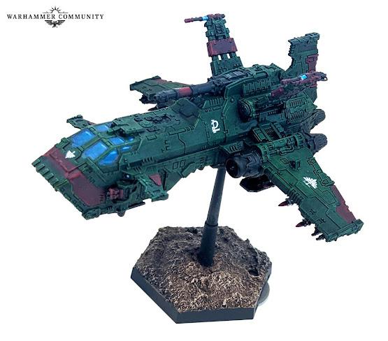 Thunderhawk en Plástico Ángeles Oscuros