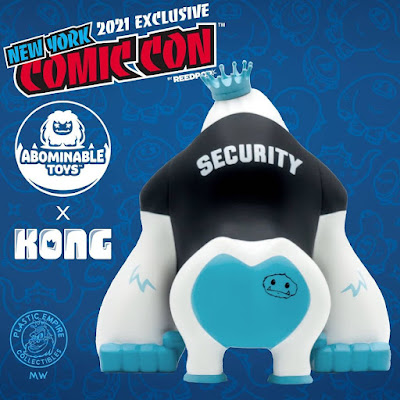 """New York Comic Con 2021 Exclusive """"Chomp Security"""" Kong Vinyl Figure by Plastic Empire x Abominable Toys"""